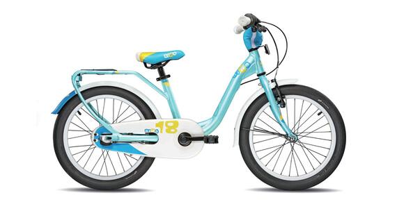 b63711b962b39 Bicicleta infantil de 18 pulgadas con cuadro mixto para niños niñas de 5 6  años Patines estabilizadores Protector de cadena Frenos V-Brake de aluminio  en ...
